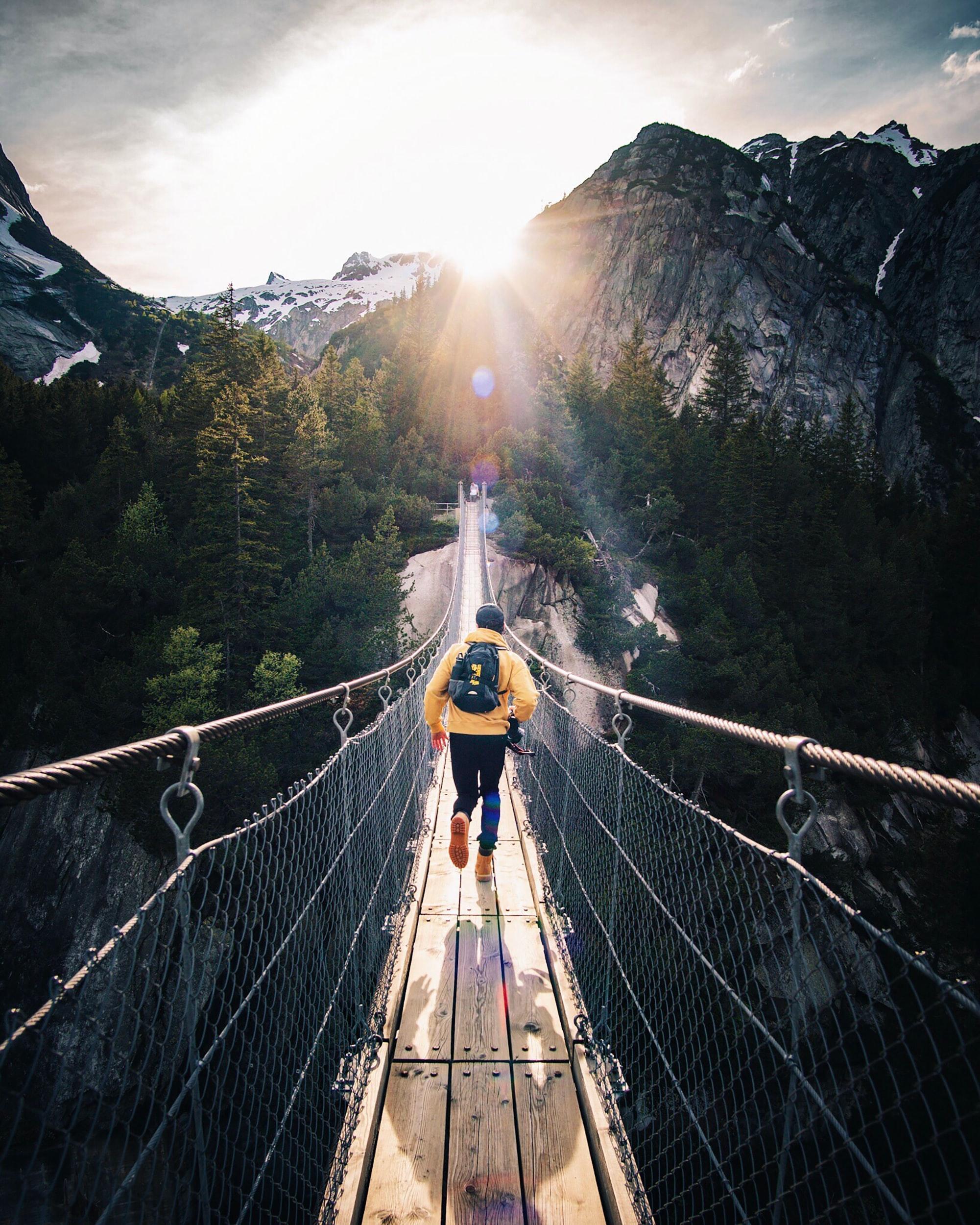 alpine Brücke